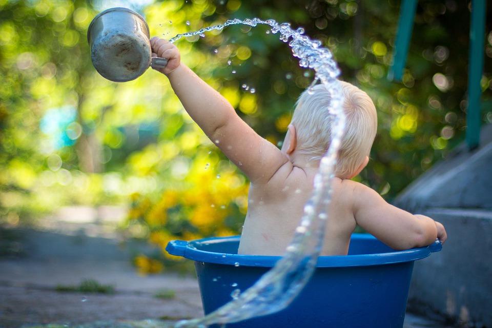 Un anneau de bain pour la sécurité de votre bébé