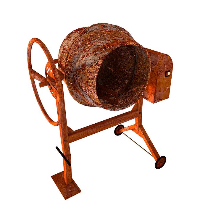 Construction : La bétonnière, un accessoire très utile