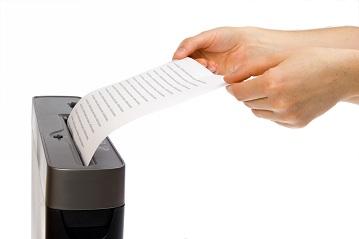 Le destructeur de documents, un appareil pour détruire considérablement les documents sensibles